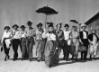 North Hollywood's Pioneers proudly display their costumes as they prepare to descend upon their annual picnic.