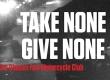 Take None/ Give None exhibit logo