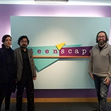3 Architects in front of teenscape sign
