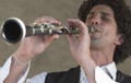 Klezmer Juice bandleader and clarinet player Gustavo Bulgach