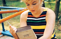 Marilyn Monroe Reads Joyce's Ulysses at the Playground