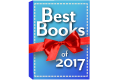 Book with a red ribbon and text that reads Best Books of 2017