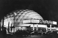 The Cinerama Dome (1963) shown at the time of its opening.