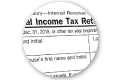 detail from a tax form