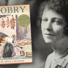 Monica Shannon and her Newbery Award-winning book, Dobry