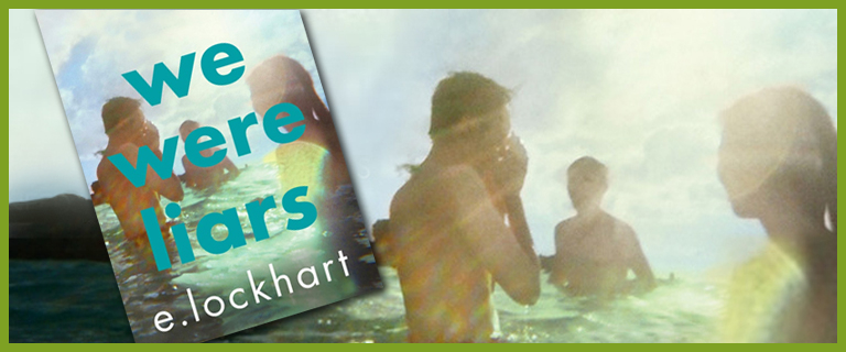 We Were Liars book cover and collage