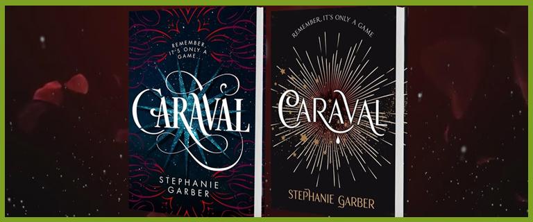 Caraval YA book covers