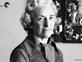 American self-trained historian and author Barbara Tuchman
