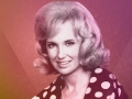 Country singer Tammy Wynette in 1971
