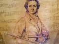 Niccolò Paganini, a celebrated Italian violinist, guitarist, and composer
