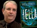 Author David Gerrold and his latest book, Hella