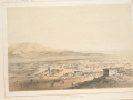 """Hansen sketch of Los Angeles after statehood. A War Department publication in 1856, """"Reports of Explorations and Surveys"""""""