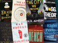 Collage of favorite books of 2020