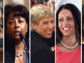 City of Los Angeles Councilwomen: Janice Hahn, Jan C. Perry, Wendy Greuel, Nury Martinez, and Monica Rodriguez