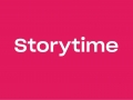 Web graphic with text storytime