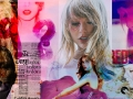 Collage of Taylor Swift's album covers