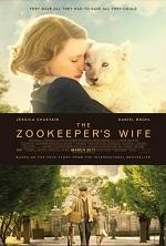 A woman cuddles a lion cub. Movie poster.